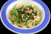 Pasta With Pine Nuts 1 — Stock Photo