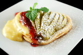 Pear Tartlet — Stockfoto