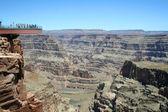 Skywalk Grand Canyon — Stock Photo
