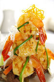 Shrimp Stack — Stock Photo