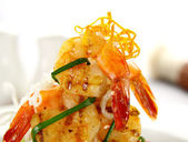 Prawn Stack — Stock Photo