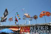 Kites And Spinners Venice Beach, Los Angeles, CA — Stock Photo