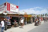 Venice Beach Boardwalk Shops, Los Angeles, CA — Stock Photo