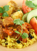 Indian Beef Curry — Stock Photo
