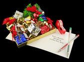 Noel hediyeleri ambalaj — Stok fotoğraf