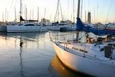 Terrain de stationnement d'yacht — Photo