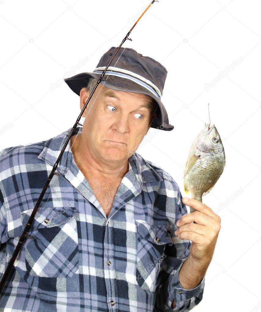 фото удивленного рыбака