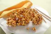 Caramel Popcorn — Stock Photo