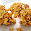 Caramel Popcorn - Stock Photo