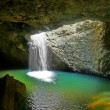 Natural Arch Waterfall - Foto de Stock