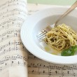 Pesto Pasta — Stock Photo #11982158