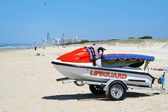 Lifeguard Jet Ski — Stock Photo