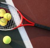 The big tennis — Stock Photo