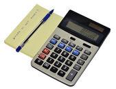 Credit calculator — Stock Photo