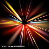 Abstract lights vector background — Stock Vector