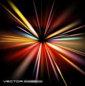 Lumières abstrait vector background — Vecteur