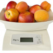 Scales with Peaches and Apricots - Stock Photo