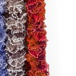 Stock Photo: Multicoloured Scarves