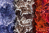 Multicoloured Scarves — Stock Photo