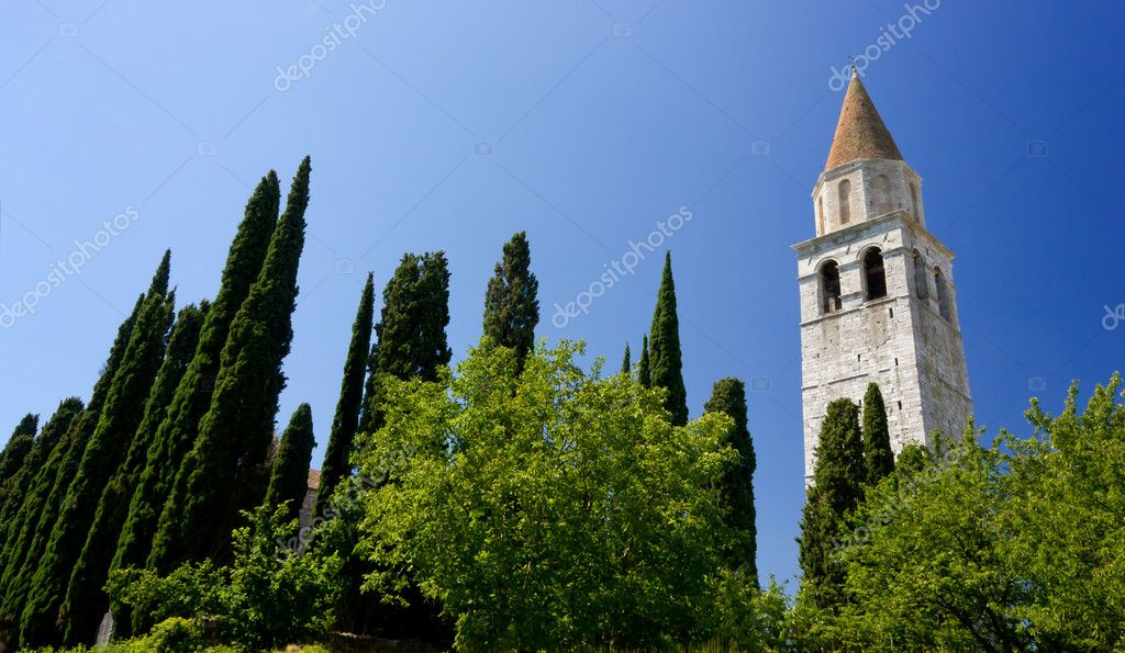 A view of the basilica of Aquileia, Italy, one of the most important cities of the ancient Roman Empire.  — Stock Photo #11870284