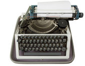 Cyrillic Typewriter — Stock Photo
