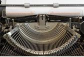 Cyrillic Typewriter — Stock Photo