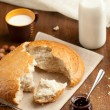 Bread and Milk — Stock Photo