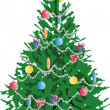 Christmas tree — Stock Photo #11337931