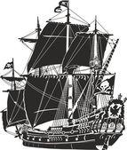 Pirate ship — Stock Photo
