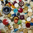 Old buttons — Stock Photo