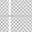 Vecteur: Chain twisted swatch background