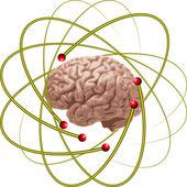 Scienziati del cervello — Vettoriale Stock