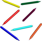 Felt pen — Stock Vector