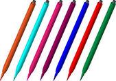 Stiftfarbe — Stockvektor