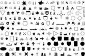 Geographic Symbol — Stock Vector