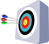 Archery — Vettoriale Stock