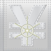 Safe yen — Stock Vector