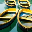 Stock Photo: Yellow Boats
