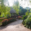 Botanic Garden Gazebo — Stock Photo