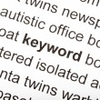 Keyword — Stock Photo