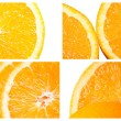Cut Orange — Stockfoto