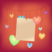 Love Notes — Stock Vector