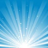 Rayons étoiles fond — Vecteur