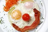 Egg Clown Face — Stock Photo