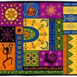 African pattern - Stock Vector