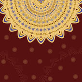 Indian pattern — Stock Vector