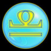 Libra. astrologicznych znaków zodiaku — Zdjęcie stockowe