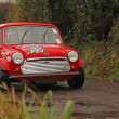 Stock Photo: Mini rally car