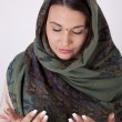Stock Photo: Young beautiful muslim woman