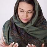 jonge mooie Moslimvrouw — Stockfoto